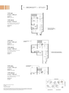leedon-green-1-bedroom-study-type-as2
